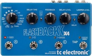 Flashback Delay x 4 for sale or trade for Recording Preamp