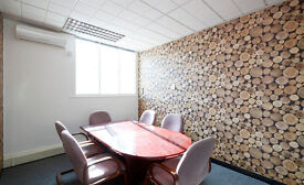 Virtual office facilities in a co-working office/ meeting rooms available