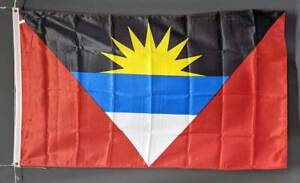 Antigua and Barbuda flag. 5x3' Printed polyester. Brand new Marrickville Marrickville Area Preview