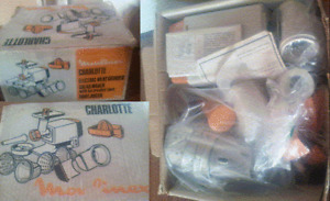 WORKING VINTAGE CHARLOTTE MOULINEX ALL IN ONE  + ALL ACCESSORIES