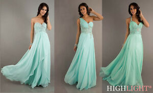Mint-Beaded-Party-Prom-Evening-Pageant-Cocktail-dress-Ball-gown-SZ-6-8-10-12-14