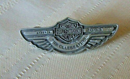 HARLEY DAVIDSON 100th ANNIVERSARY THE CELEBRATION VEST JACKET HAT PIN