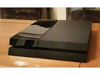 PS4 with uncharted 4 controller and uncharted 4 game & fully serviced