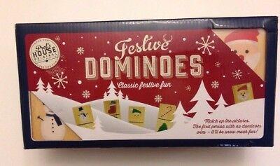 Festive Christmas Dominoes,  New