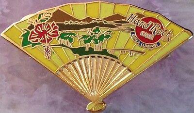 Hard Rock Cafe Kuala Lumpur 2001 Asiatische Fan Series Pin Mountain - Hrc #4252