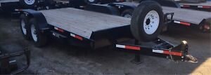 20' SWS Equipment Trailer (16' deck)