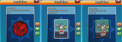 Worlds 2015 Sleeve, Deckbox & Coin Pokemon TCG Online (Digital Card) PTCGO