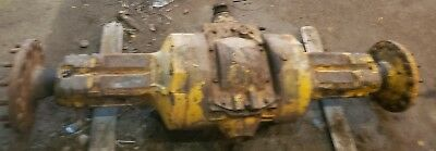John Deere 440b Cable Skidder Rearend Assembly Complete With 14 Bolt Hubs Jd
