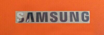 1 pcs Sticker Logo for SAMSUNG TV Laptop Microwave Oven Dishwasher 90mm x 13mm