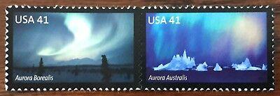 2007 Scott #4203-4204 - 41¢ - Polar Lights Pair - Mint NH