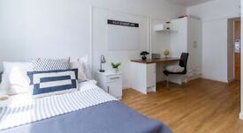 STUDENT ROOMS TO RENT IN LONDON. CLASSIC STUDIO WITH PRIVATE BATHROOM AND PRIVATE KITCHEN