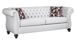 SOFT HAND PICKED VELVET FABRIC TUFTED SOFA | TUFTED SOFA SALE HAMILTON (BD-426)