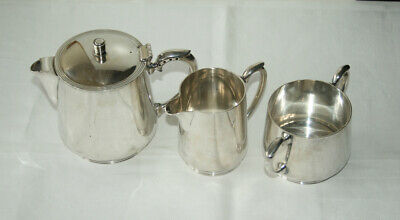 Vintage Hamilton, Laidlaw & Company EPNS 3pce set – teapot, milk jug, sugar bowl