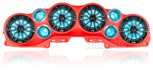 DS18 JL-SBAR/R Red Jeep Wrangler Gladiator JL JLU jt RGB LED Speaker Sound Bar