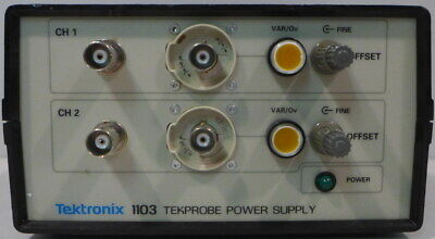Tektronix 1103 Tekprobe Power Supply 2 Tested And Working