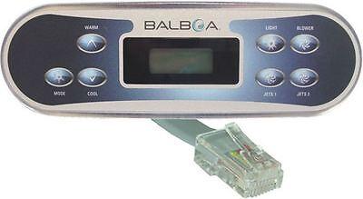 Spa Side Control Part (Spa side control panel keypad Balboa WG® VL700S w/ phone plug type, part#)
