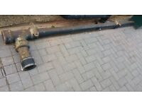 Iron soil pipe scrap metal