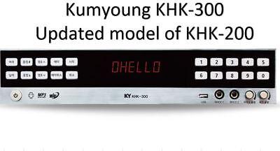 KumYoung KHK-300 Home Party Korean Karaoke Machine System updated of KHK-200