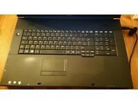 Fujitsu 18.4 screen 4gb 500gb Windows 8.1 Office