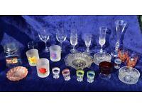 Large Bundle Glassware & Posh Glasses Home Starter Set