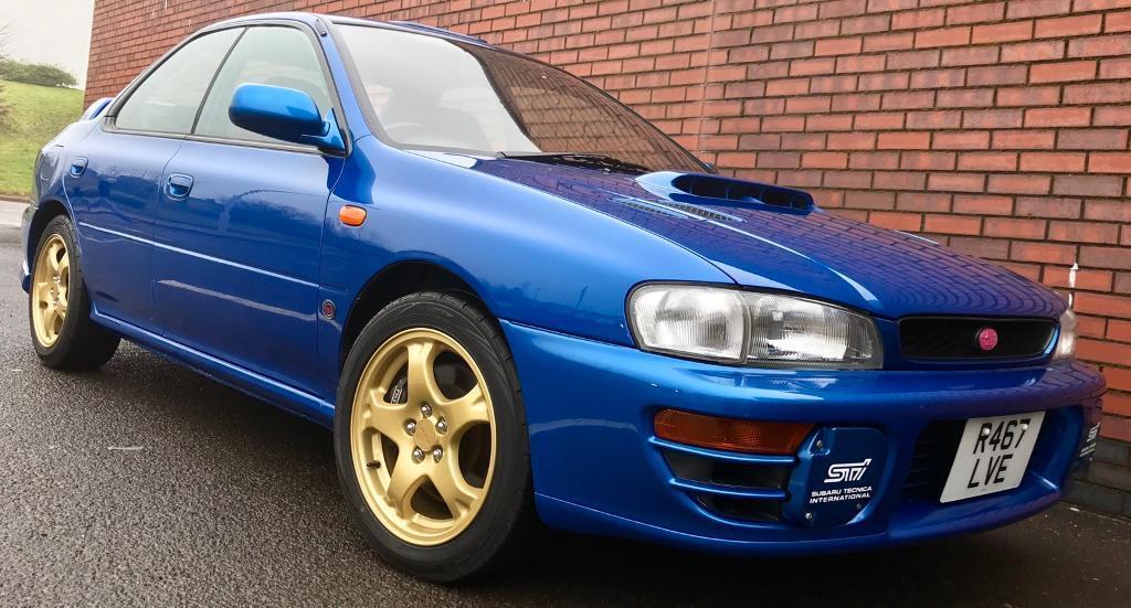 Subaru Impreza STi Type-RA V Ltd 555