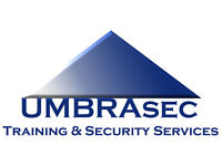 UMBRAsec SIA Security Courses August / September 2016