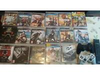 PS 3 +17 best games + 2 controller+HDMI £160 (ono)