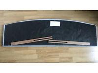 Double padded headboard