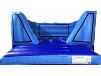 Bouncy Castle - low in height ideal for indoors has Velcro changeable artwork options