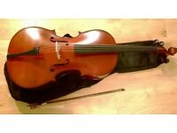 Cello 4/4 Full Size Outfit Stringers of London & Edinburgh