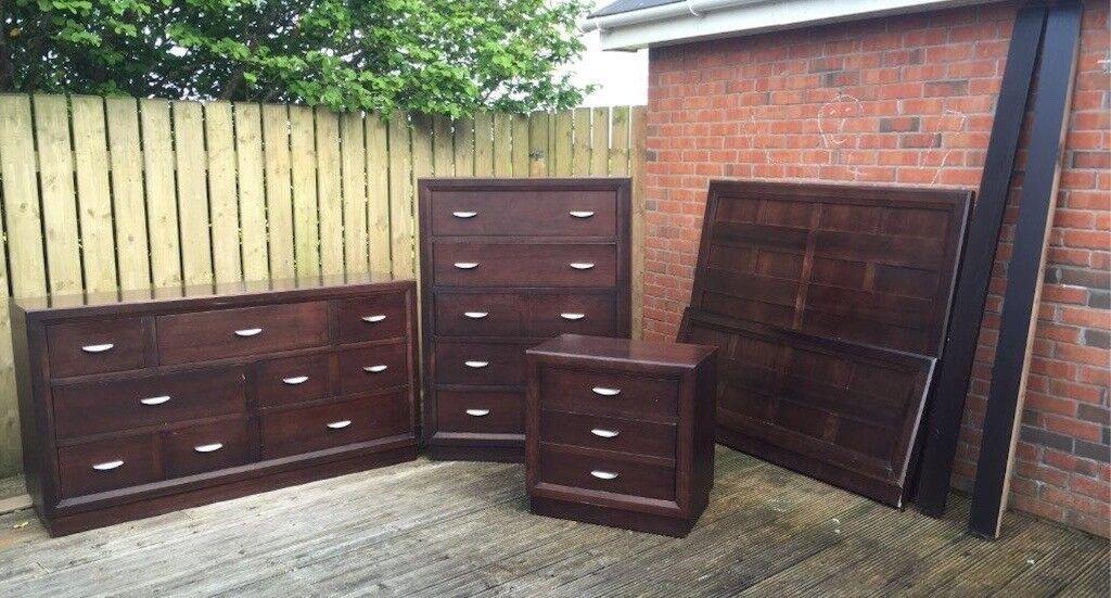 Bedroom Furniture Set Walnut Broyhill For Sale In Lisburn County Antrim Gumtree