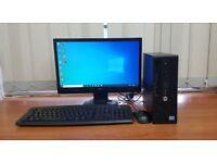 HP PC Computer Windows 10, Intel Core i5-4590S 8GB RAM & 500GB HDD