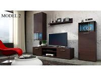 TV Cabinets - TV Stand - Wall Unit - Modern Furniture - Living Room Furniture + LED Lights