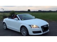 2008 White Audi TT Cabriolet, full Audi service history & desirable interior!