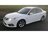 SAAB 9-3 Tid Turbo Edition.61/2011.White.FULL HISTORY.HPI CLEAR.VERY NICE CAR.BARGAIN