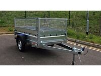 FARO Car Trailer 7.74 x 4.10 FT mesh