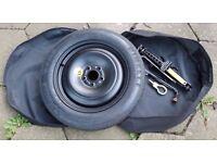 """Ford Mondeo Mk3 Spare tyre Pirelli wheel kit T125/85/16""""- £25"""