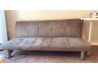 Convertible Sofa Bed New Color: Gray
