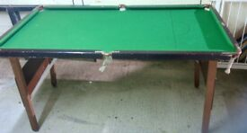 Childs junior pool table. No balls