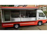 Mercedes Benz MB100 Food Truck for sale. Ready to trade and highly specced out