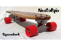 Skateboard mini Cruiser Nostalgia squareback
