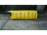 free pack of isover insulation.