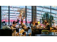 Waiter/Waitress for Fenchurch Restaurant at Sky Garden
