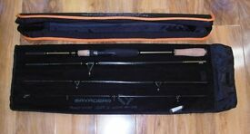 NEW SAVAGEAR ROAD RUNNER XLNT 4 PIECE TRAVEL LURE ROD