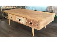 Swoon Editions Sahara coffee table mango wood. Beautiful