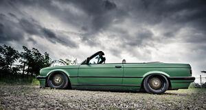 GENUINE Klutch SL1 wheels 16x8 16x9 4x100 JDM HELLAFLUSH DISH MESH EG EK E30 MX5