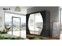 Wardrobe Ben 1 - 180cm wide - brand new - wardrobes - 2 sliding doors