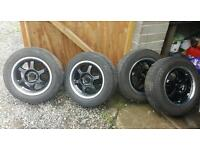 """Alloy wheels 15"""" removed from vectra b"""