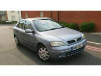 2003 Vauxhall Astra 1.6i Club 5 Door with Full Service History and Only 2 Owners