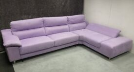 DFS GUEST Corner Sofa Bed in Lilac